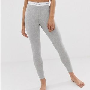 Calvin Klein Grey Leggings